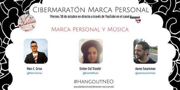 Marc C. Griso en la #HangOutNeo, la cibermaratón de personal branding
